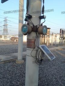 国网山东电力公司胶东±660KV 换流变电站实现避雷器在线监测